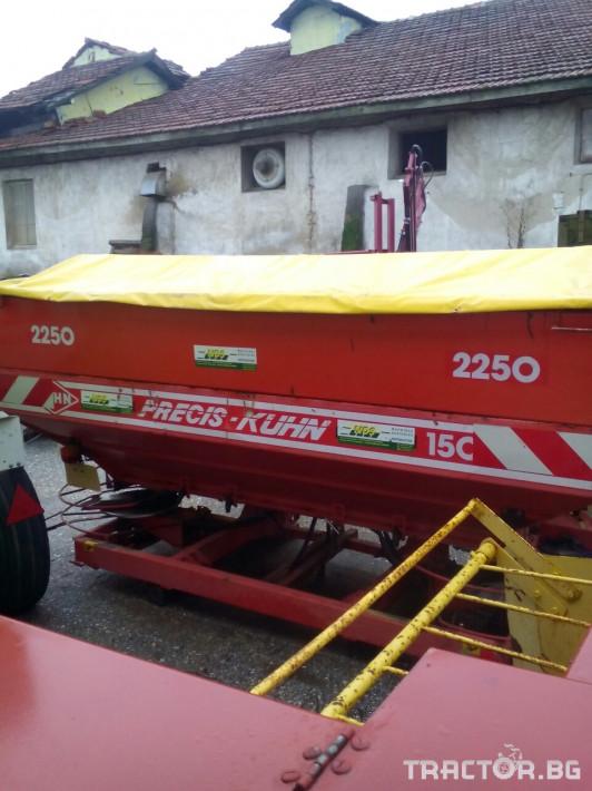 Торачки Торачка Kuhn Precis 1500+АMAZONE 3000L 1 - Трактор БГ