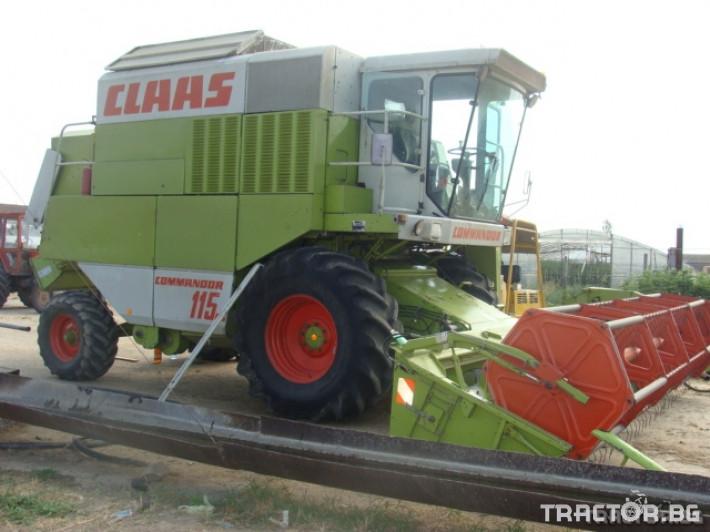 Комбайни Claas Comandor 114 0