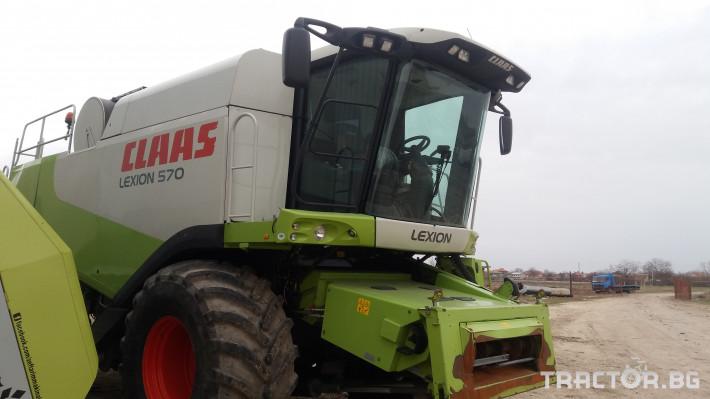 Комбайни Claas 570 4X4 9