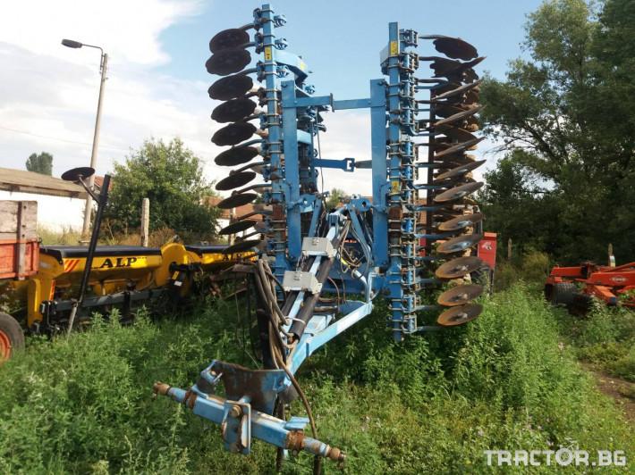 Брани Дискова брана Lemken 1 - Трактор БГ