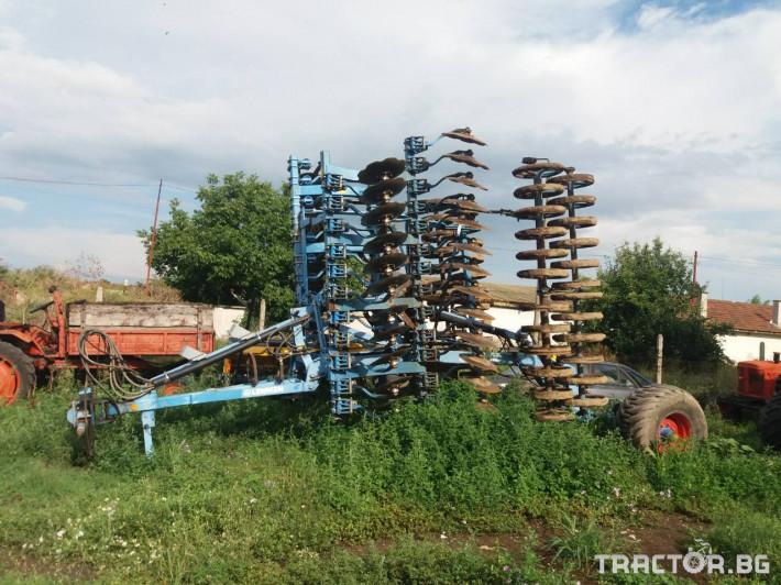 Брани Дискова брана Lemken 0 - Трактор БГ