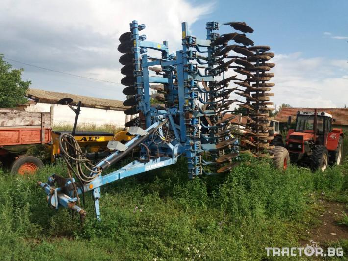 Брани Дискова брана Lemken 3 - Трактор БГ