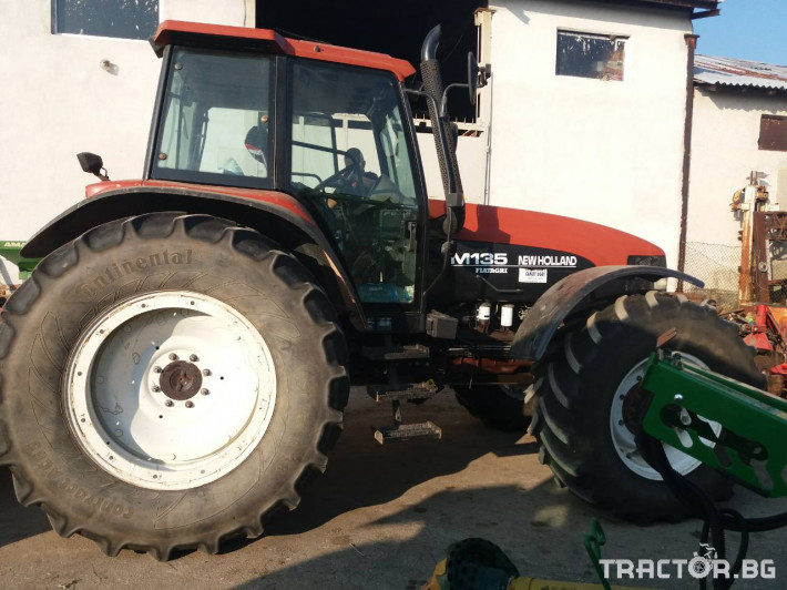 Трактори New Holland M135 7