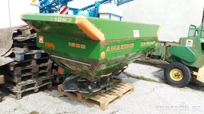 Торачки Amazone  ZA-M maxiS 1 - Трактор БГ
