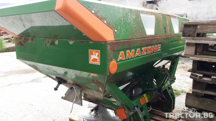 Торачки Amazone  ZA-M maxiS 3 - Трактор БГ