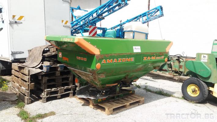 Торачки Amazone  ZA-M maxiS 2 - Трактор БГ