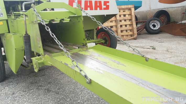 Сламопреси Claas МАРКАНТ 41 2 - Трактор БГ