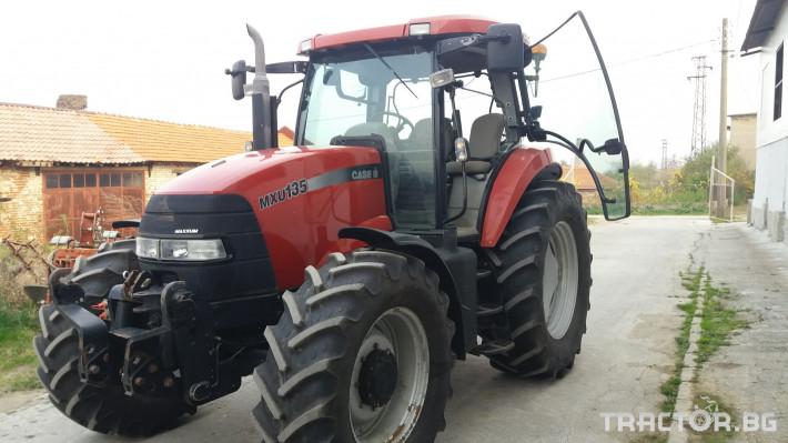 Трактори CASE-IH MXU 135 0 - Трактор БГ