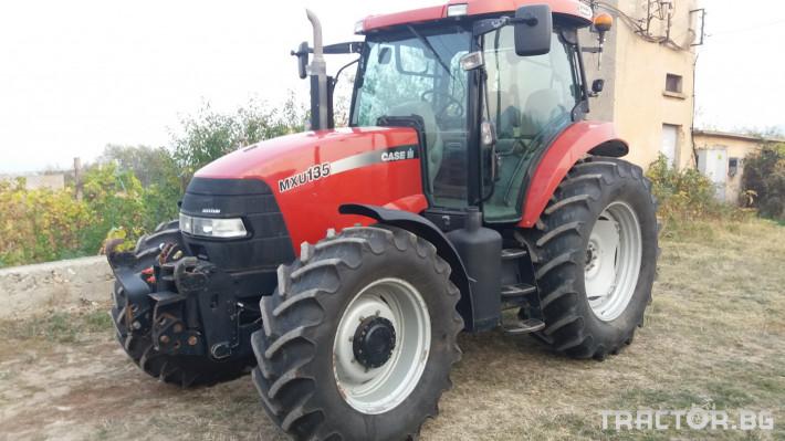 Трактори CASE-IH MXU 135 10 - Трактор БГ