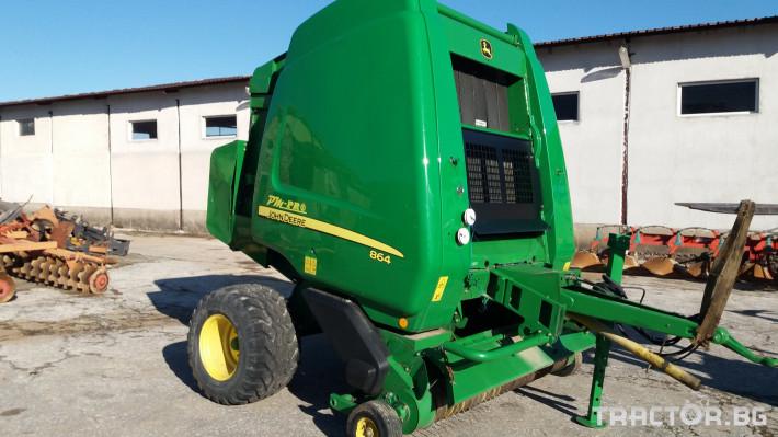 Сламопреси John-Deere 864 ROTOFLOW 1 - Трактор БГ