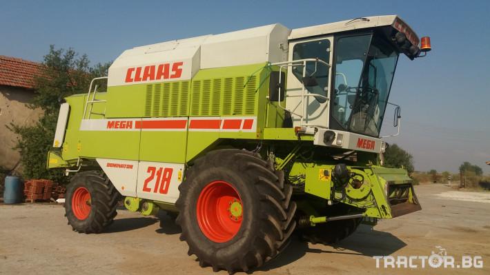 Комбайни Claas МЕГА 218 0 - Трактор БГ