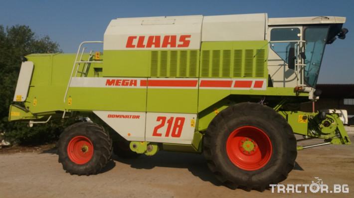 Комбайни Claas МЕГА 218 1 - Трактор БГ