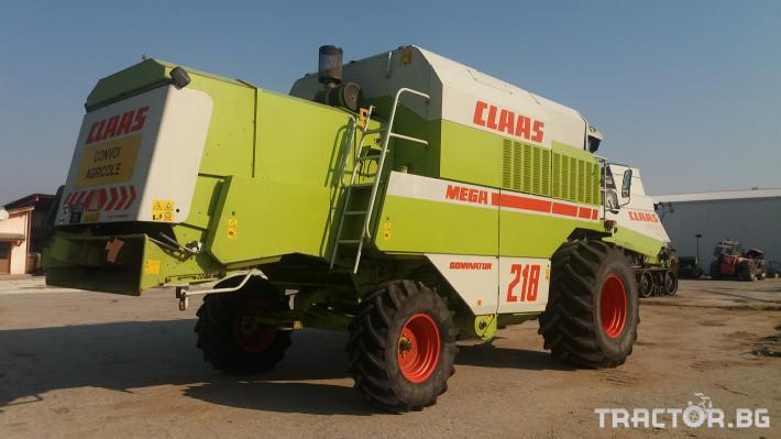Комбайни Claas МЕГА 218 2 - Трактор БГ