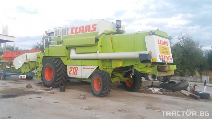 Комбайни Claas МЕГА 218 3 - Трактор БГ