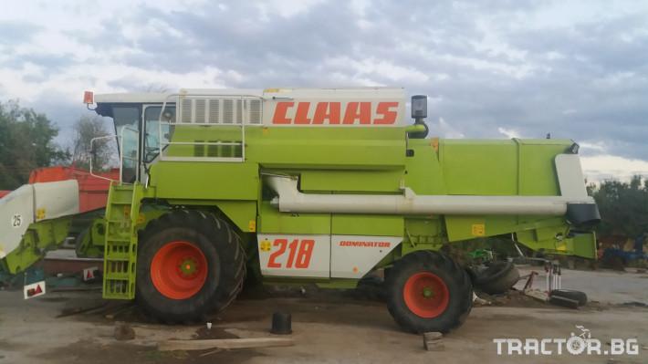 Комбайни Claas МЕГА 218 4 - Трактор БГ