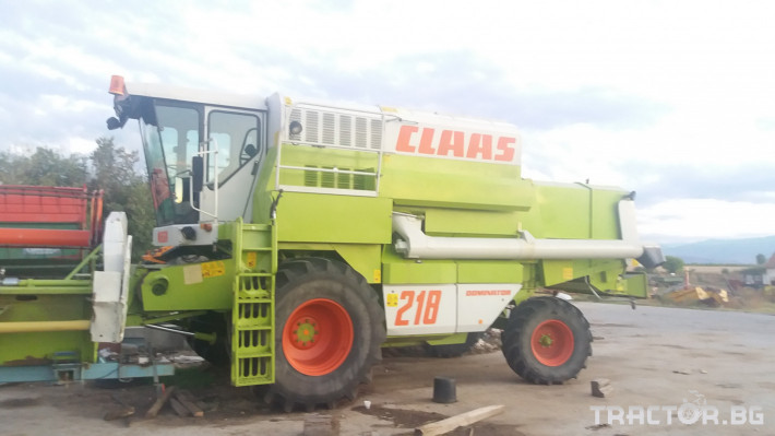 Комбайни Claas МЕГА 218 5 - Трактор БГ