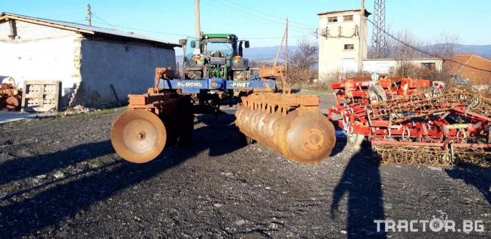 Брани Дискова брана Souchu-pinet AVH 4 - Трактор БГ