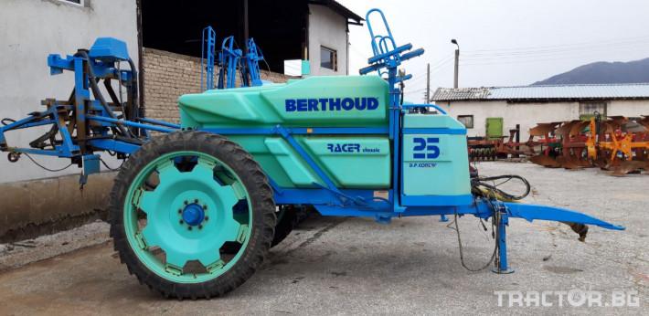 Пръскачки Berthoud Racer  classic 25 4 - Трактор БГ