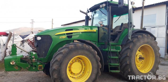 Трактори John-Deere 7730 0 - Трактор БГ