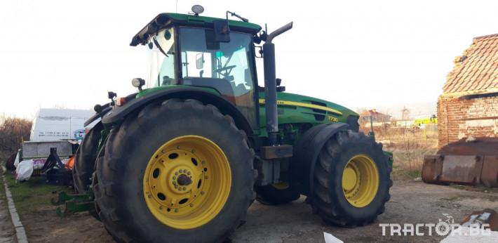 Трактори John-Deere 7730 1 - Трактор БГ