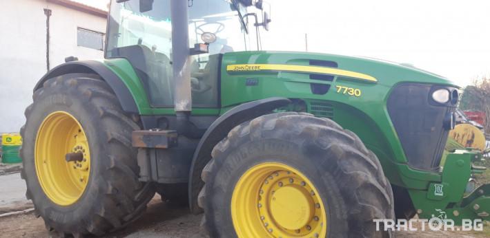 Трактори John-Deere 7730 10 - Трактор БГ