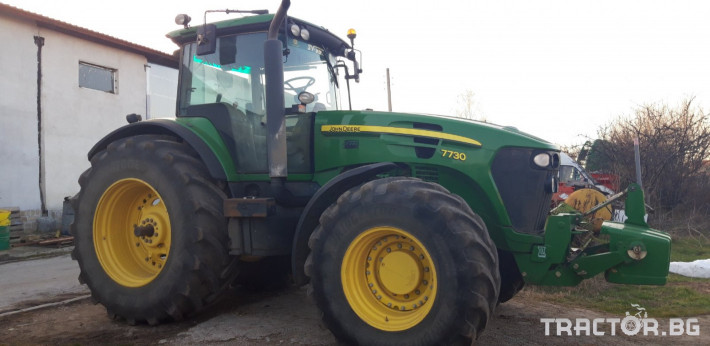 Трактори John-Deere 7730 12 - Трактор БГ